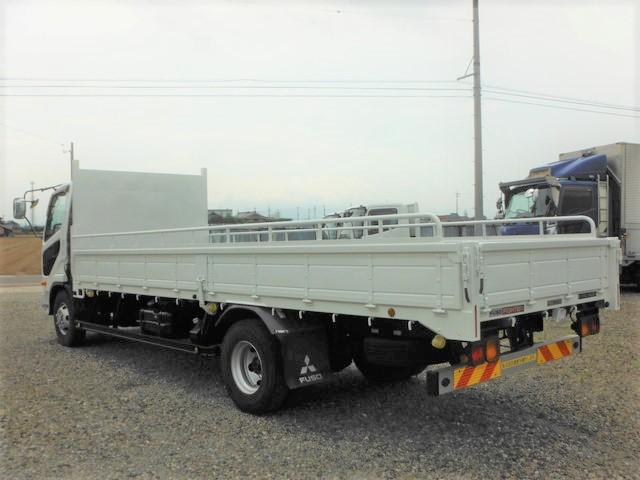 三菱 TKG-FK71F 平ボディ 4t標準