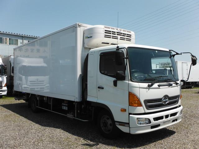 日野 TKG-FD7JLAG 冷凍車 4t ワイド