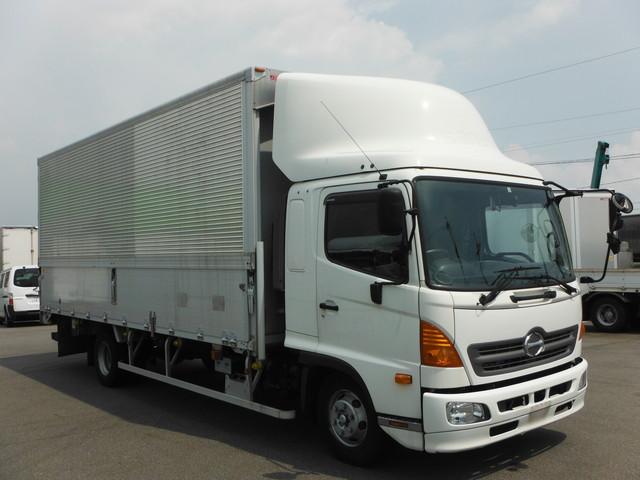 日野 TKG-FD9JLAA アルミウィング 4t ワイド